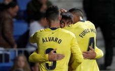 Gerard Moreno le da media permanencia al Villarreal