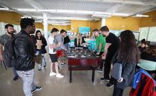 El Centro Universitario de Mérida se divierte antes del examen final