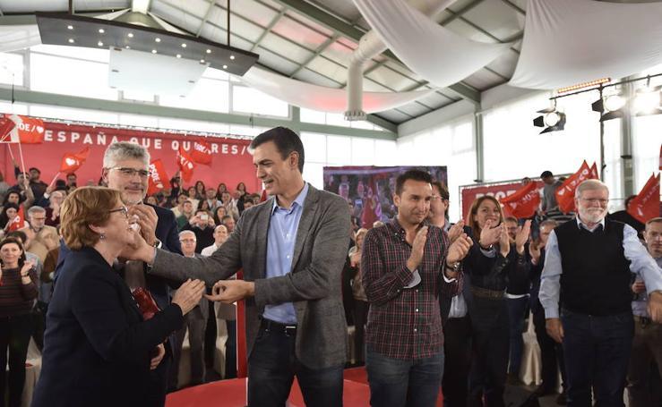 La visita de los candidatos a Extremadura
