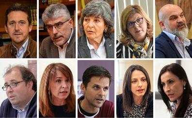 Estos son los diez cabezas de lista al Congreso por Badajoz y Cáceres