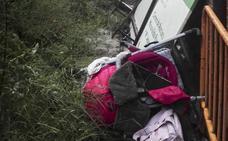 «Que fuera en el carrito es quizás lo que ha salvado la vida a la pequeña»
