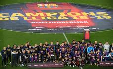 El Barça se reserva para una celebración más grande