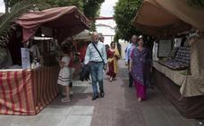 Participar en el mercado romano