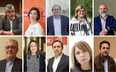 Los diez diputados y ocho senadores extremeños elegidos el 28A