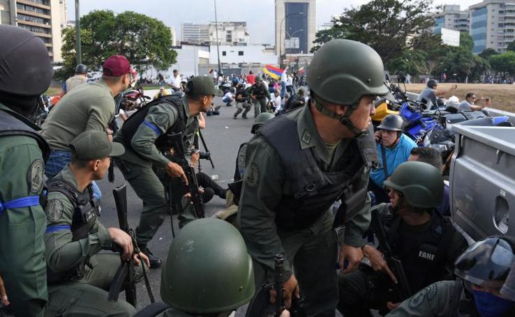 Alzamiento militar en Venezuela
