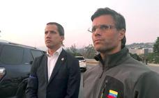Leopoldo López se refugia en la residencia del embajador español en Caracas
