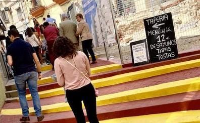 Los contratiempos acercan al medio millón el coste de las escaleras mecánicas de Alzapiernas