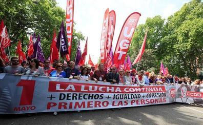 La manifestación del 1 de mayo reclama políticas reales de izquierdas