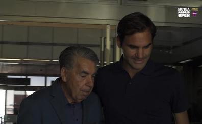 Federer estará en Madrid tras tres años sin jugar en tierra batida