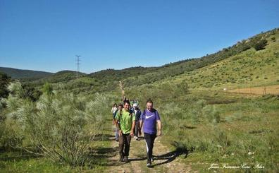 600 senderistas acuden este domingo a la ruta del Rey Jayón
