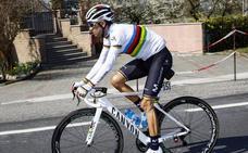 Valverde, baja definitiva para el Giro
