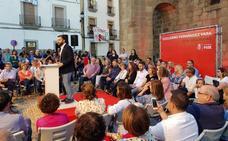 PSOE y Cs presentan a sus candidatos
