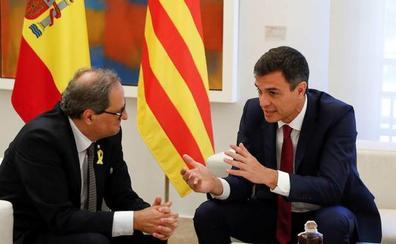 Pedro Sánchez apuesta por retomar el diálogo con la Generalitat una vez haya elecciones en Cataluña