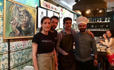 Cuatro jóvenes fusionan arte y cocina en Granadilla