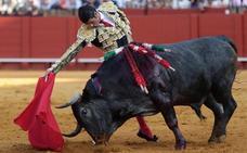 Emilio de Justo entra en Sevilla