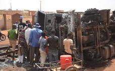 Al menos 58 muertos por la explosión de un camión cisterna en Níger