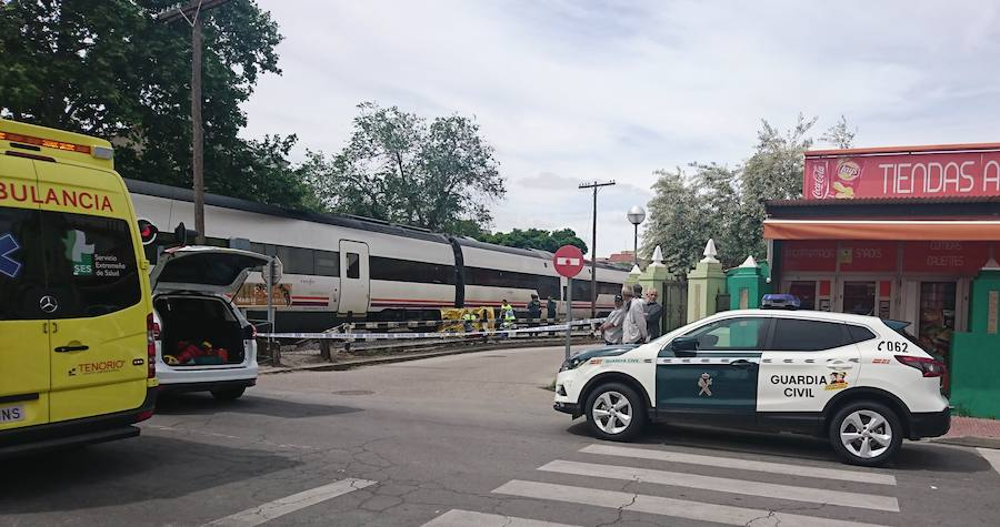 Fallece una mujer atropellada por un tren en Navalmoral