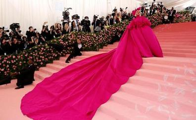 Lady Gaga, anfitriona de la excéntrica gala en el Museo Metropolitano de Nueva York