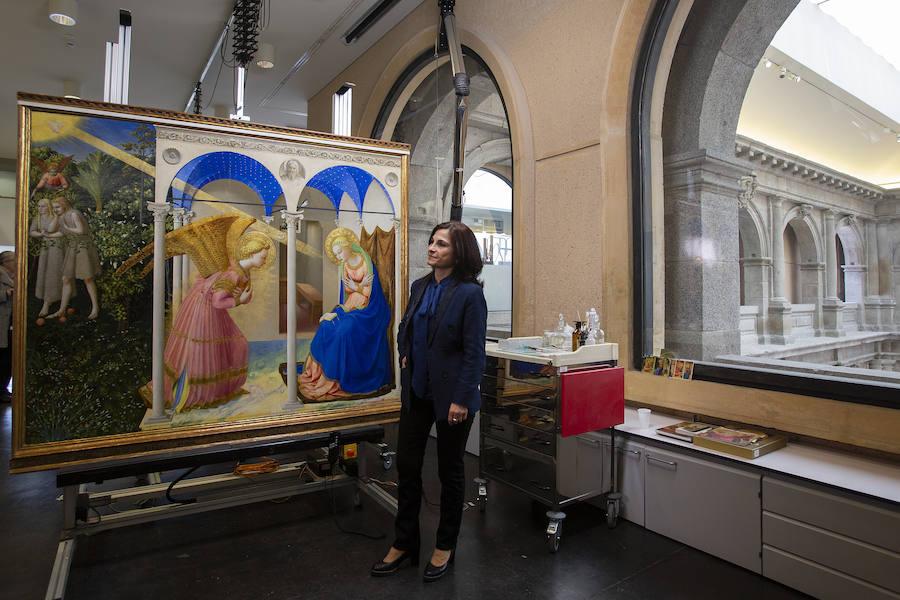 El Museo del Prado le devuelve la luz y el color a 'La Anunciación'