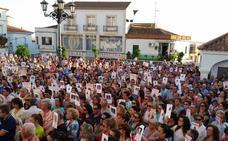 Concentración en el segundo aniversario de la desaparición de Francisca Cadenas