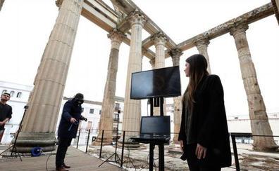 La realidad virtual permite revivir el Templo de Diana
