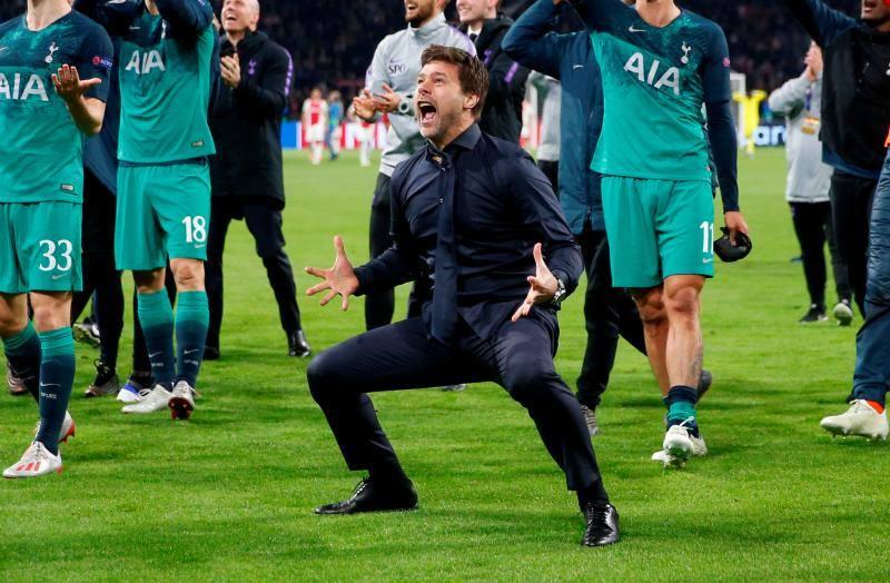 Las mejores imágenes del Ajax-Tottenham