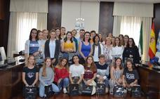 Visita de alumnos franceses que participan en un intercambio en el Instituto San José de Villanueva