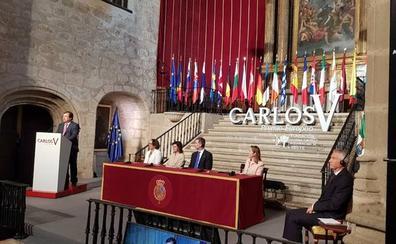El Rey pide una Europa «más unida y fuerte» al entregar el premio Carlos V en Yuste