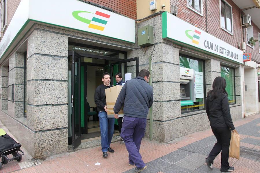 Una de cada cuatro oficinas bancarias ha cerrado en la región desde el inicio de la crisis