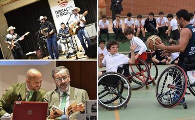 Mis asignaturas: ir en silla de ruedas, bailar y Europa