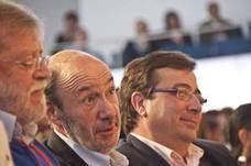 Rubalcaba tenía previsto cerrar la campaña del PSOE en Extremadura