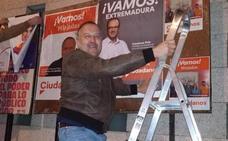 Unidas por Miajadas denuncia a Ciudadanos por pegar un cartel antes de empezar la campaña