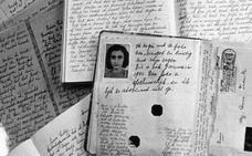 Publican por primera vez la versión completa del diario de Anna Frank