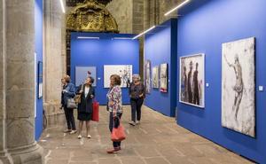 Las 26 obras de la I Bienal San Lucas, en la Catedral Vieja