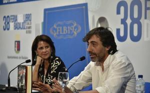 Juan del Val y Juan Ramón Lucas, primeras visitas ilustres en la Feria del Libro