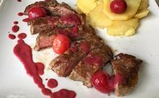 Nueve restaurantes del Jerte diseñan un menú especial a base de cerezas
