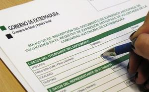 Solo dos de cada mil extremeños tienen testamento vital, la tasa más baja del país