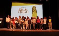 Los alumnos villanovenses copan los premios del Felipe Trigo infantil y juvenil