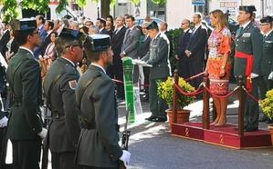 Homenaje en Badajoz a la Guardia Civil en su 175 aniversario