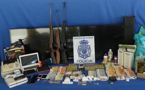 Cinco mujeres detenidas en una operación contra el tráfico de drogas en Plasencia