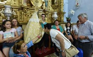 La Morenita de Argeme regresa a su santuario