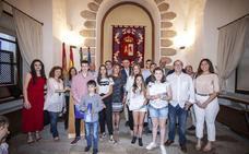Entregados en Cáceres los premios artísticos de Europe Direct