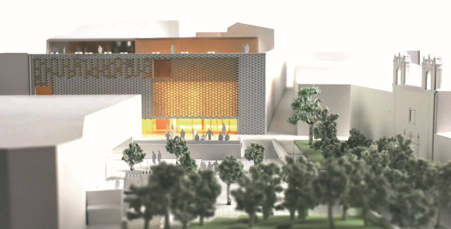 La nueva sede de la Fundación CB estará unida a la plaza del Luis de Morales por un escenario