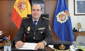 José Berrocal, nuevo jefe de la Comisaría Provincial de la Policía Nacional en Cáceres