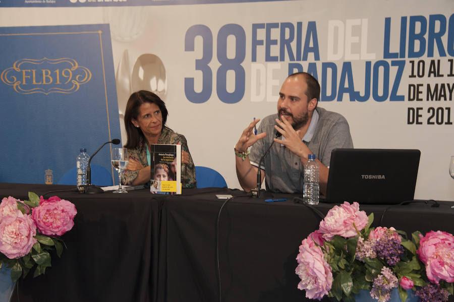 La conferencia más dura de la Feria del Libro de Badajoz