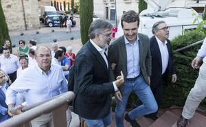 Pablo Casado: «Es muy probable el pacto PSOE-Cs en Extremadura»