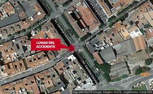 Atropellan a una mujer de 72 años en la avenida Carolina Coronado de Badajoz