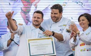 El extremeño Juan Manuel Salgado pasa a la final de Cocinero del Año tras ser segundo en Granada