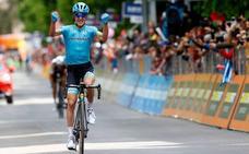 Pello Bilbao gana la etapa y Rojas se pone segundo