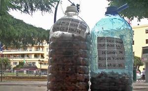 Basura invisible en las calles de Badajoz